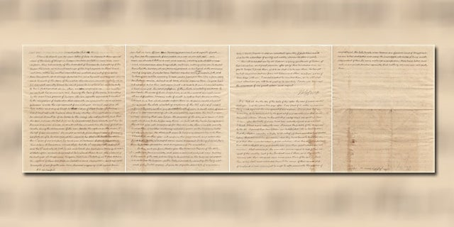 A recently discovered letter penned by Thomas Jefferson in 1815 is worth an estimated $325,000.