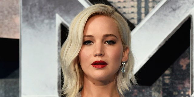 Actor Jennifer Lawrence arrives at a screening of X-Men Apocalypse at a cinema in London, Britain, May 9, 2016. REUTERS/Hannah McKay - RTX2DJ7Z