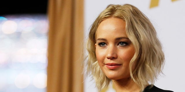 Actress Jennifer Lawrence arrives at the 88th Academy Awards nominees luncheon in Beverly Hills, California February 8, 2016. REUTERS/Mario Anzuoni/File Photo - RTX2MOKE