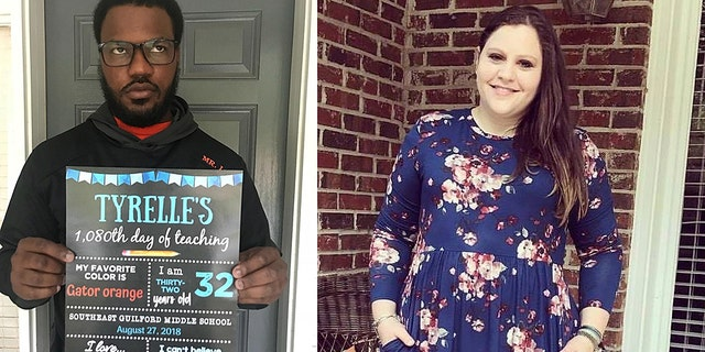 """One North Carolina mom had a hilarious vision for the perfect """"back to school"""" post to share on social media featuring her husband, a teacher."""