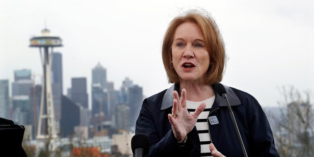 Seattle Mayor Jenny Durkan.