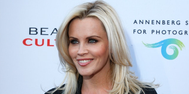 Actress Jenny McCarthy poses at a photography exhibit in Los Angeles.
