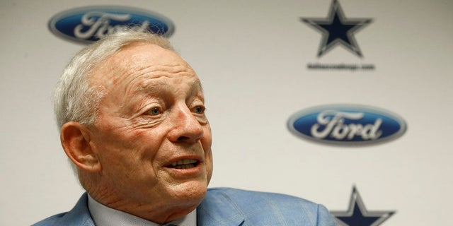 Dallas Cowboys owner Jerry Jones became the first owner to suggest repercussions for a player who doesn't stand for the anthem.