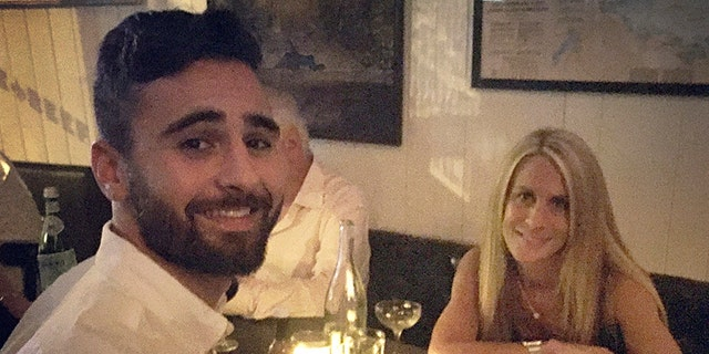 Jesse Galganov with his mother, Alisa Clamen