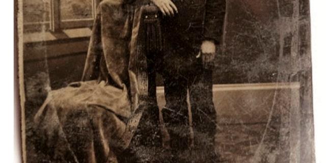 The tintype photo of Jesse James