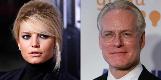 Jessica Simpson and Tim Gunn are sharing their past problems in bullying. (Reuters)
