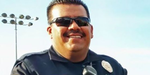 """Officer Jesus """"Chuy"""" Cordova died on April 27 after he was shot by an armed carjacker."""