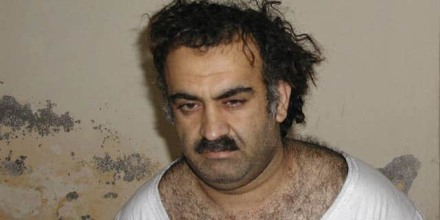 Khalid Shaikh Mohammed, the alleged mastermind of the 9/11 attacks.