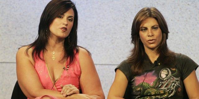 Season One winner Kelly Min and Jillian Michaels in 2004.