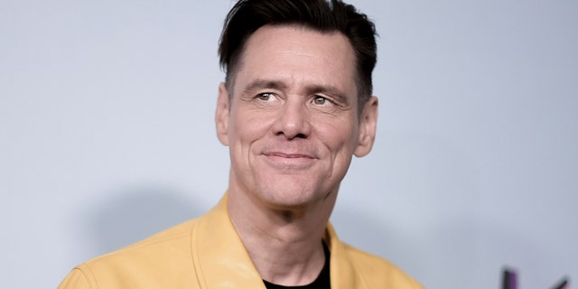"""Jim Carrey attends the LA Premiere of """"Kidding"""" at ArcLight Hollywood on Wednesday, Sept. 5, 2018, in Los Angeles."""