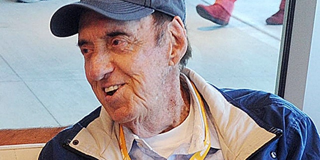 Jim Nabors before the 2014 Indianapolis 500 at Indianapolis Motor Speedway May 25, 2014