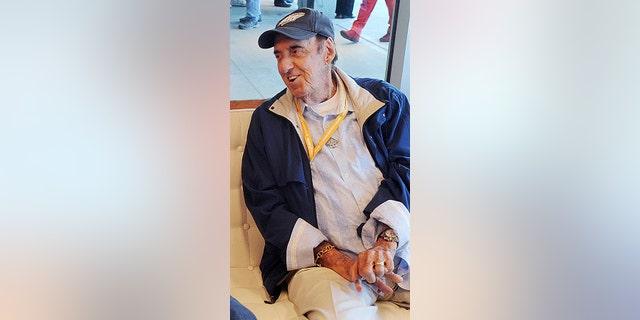 Jim Nabors before the 2014 Indianapolis 500 at Indianapolis Motor Speedway May 25, 2014