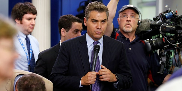 CNN's Jim Acosta was recently kicked out of the Oval Office for badgering the president.