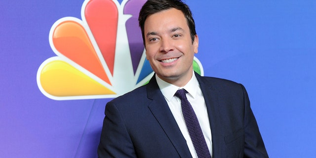 In this May 12, 2014 file photo, The Tonight Show host Jimmy Fallon attends the NBC Network 2014 Upfront presentation at the Javits Center in New York.