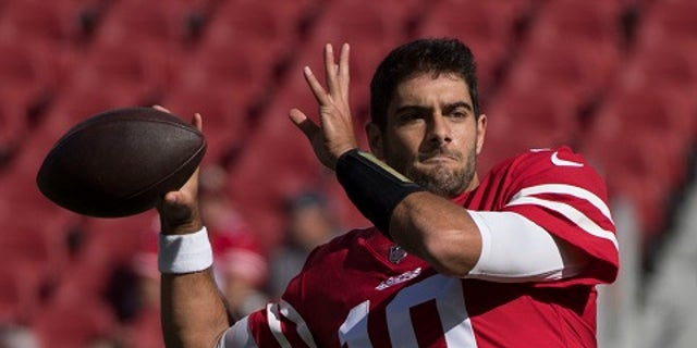 Jimmy Garoppolo was the New England Patriots backup quarterback.