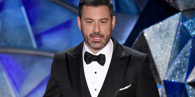 """""""We don't make films like 'Call Me By Your Name' for money,"""" Kimmel quipped at one point. """"We make them to upset Mike Pence."""""""