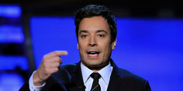 Jimmy Fallon on Sunday delivered a surprise speech at Marjory Stoneman Douglas High School's graduation.