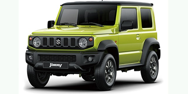 The Jimny is the successor the Suzuki Samurai.