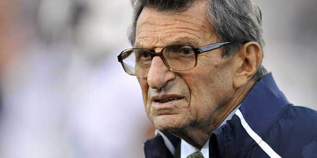 Penn State coach Joe Paterno in 2011.