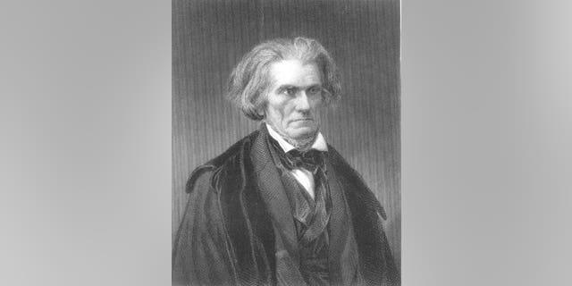 A 19th century portrait of John C. Calhoun.