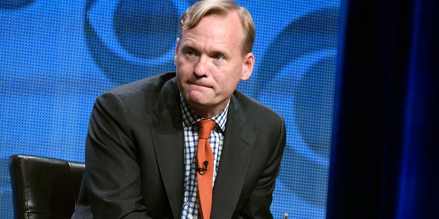 """Former Political Director for CBS News, John Dickerson, has had tough sledding filling in for the departed Rose on """"This Morning."""" (Photo by Richard Shotwell/Invision/AP, File)"""