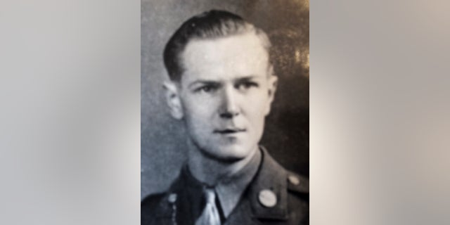 U.S. Army Air Forces Staff Sgt. John H. Canty, who was killed when his bomber was shot down over France in June 1944, was buried with full military honors this week at Arlington Cemetary.