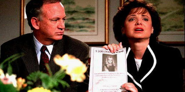 JonBenet Ramsey's parents John and Patsy Ramsey. Patsy passed away in 2006 at age 49 from ovarian cancer. — AP