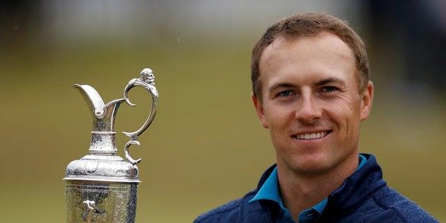 Golfer Jordan Spieth also made a donation to Camp Barnabas.