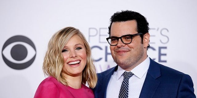 """Josh Gad is thanking his """"Frozen"""" co-star for saving his family from Hurricane Irma."""