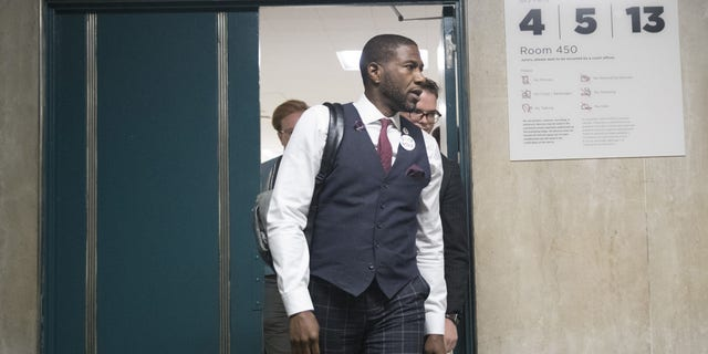 City Council Member Jumaane Williams, who is running for lieutenant governor.