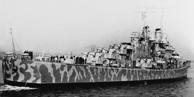 The USS Juneau In New York Harbor, 11 Feb. 1942. (Courtesy the U.S. National Archives)