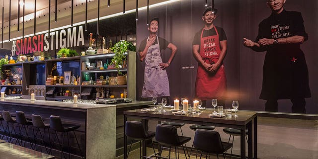 June's: An HIV+ Eatery opened for sold-out dinner services earlier this week.