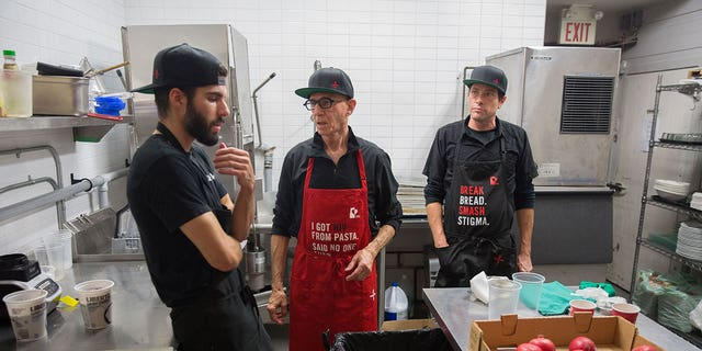 June's: An HIV+ Eatery was staffed with HIV-positive cooks only.