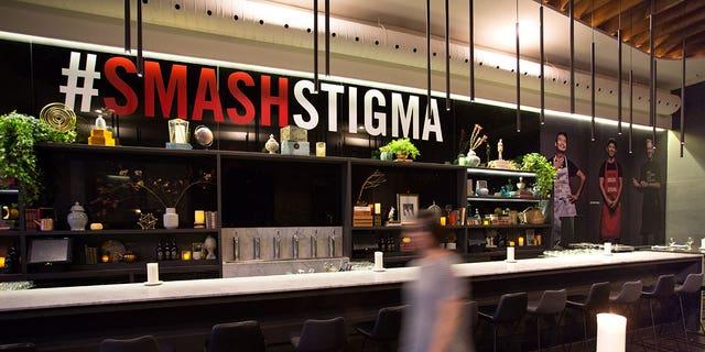 Organizers encouraged diners to share their experience via the #SmashStigma hashtag.
