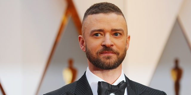 Justin Timberlake at the Academy Awards in February 2017.