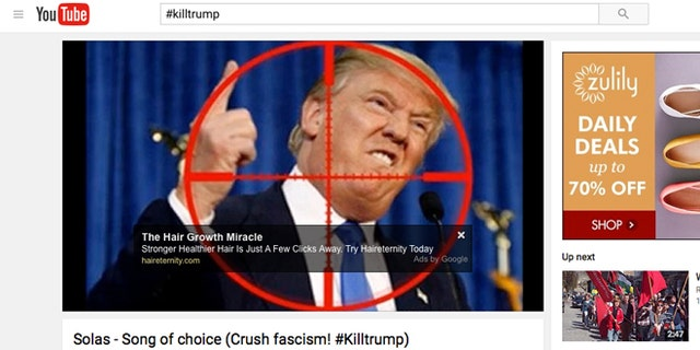 The vitriolic hashtag has even surfaced on sites like YouTube.