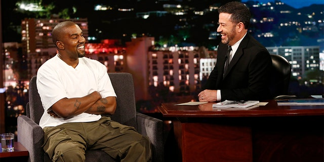"Kanye West appeared on Thursday on ""Jimmy Kimmel Live!"" and discussed his support for Trump."