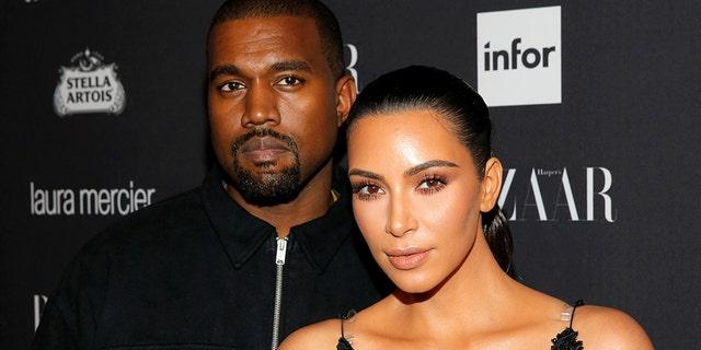 Elle magazine falsely tweeted that Kanye West and Kim Kardashian are splitting up.