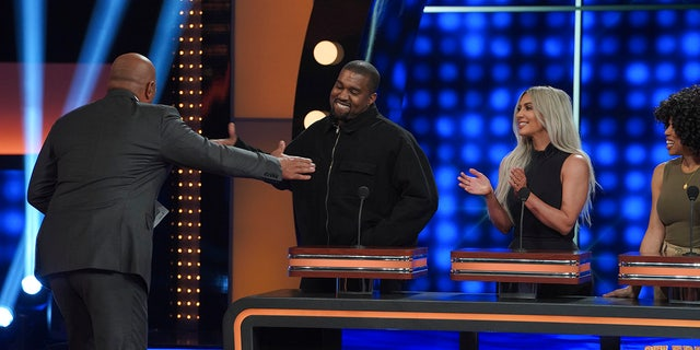 "It was Team West vs. Team Kardashian/Jenner on ""Celebrity Family Feud."""