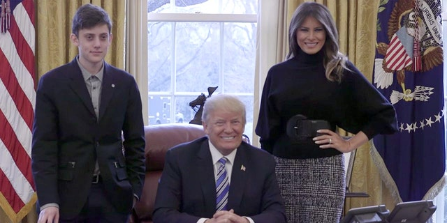 Kyle Kashuv was invited to the White House to meet with President Trump and First Lady Melania Trump.