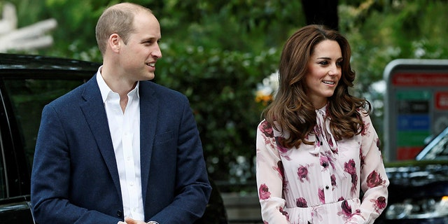 Prince William and his wife, Duchess of Cambridge Kate Middleton.
