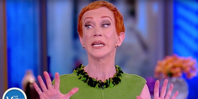 """Where was the apology for Kathy Griffin going on a profane rant against the president on The View after a photo showed her holding President Trump's decapitated head?"" Sarah Sanders asked."