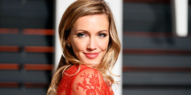 Katie Cassidy, pictured in 2015, is the daughter of David Cassidy and model Sherry Williams