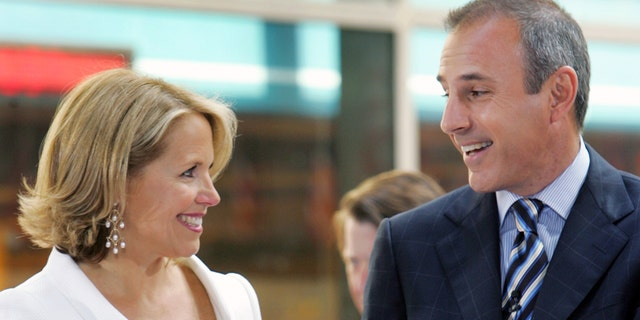 """Katie Couric said it's been a """"painful time"""" since Matt Lauer was fired from NBC for alleged sexual misconduct."""