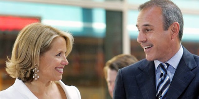 "Katie Couric and Matt Lauer hosted the ""Today"" show together from 1991 to 2006 before she left to anchor ""CBS Evening News."""