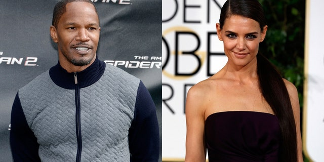 Jamie Foxx and Katie Holmes were spotted out on a dinner date in New York City despite rumors that the couple had broken up.