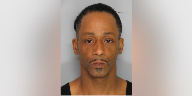 This police booking photo released  by the Gainesville Police Department on Monday, March 1, 2016 shows comedian Katt Williams after being arrested following an alleged altercation with an employee of a pool supply business. Hall County sheriffs Deputy Nicole Bailes said in an email that Williams faces a misdemeanor battery charge and was being held on $5,000 bond.  (AP Photo/Gainesville Police Department)