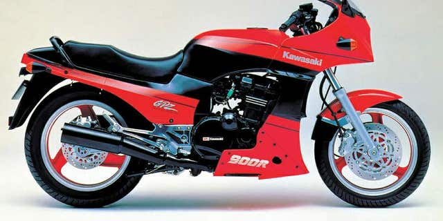 The GPZ900R was the fastest motorcycle of its day.