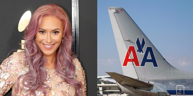 """Kaya Jones, a singer and member of the National Diversity Coalition for President Donald Trump, is claiming that American Airlines treated her in an """"unethical"""" manner and says they caused her to miss a flight."""