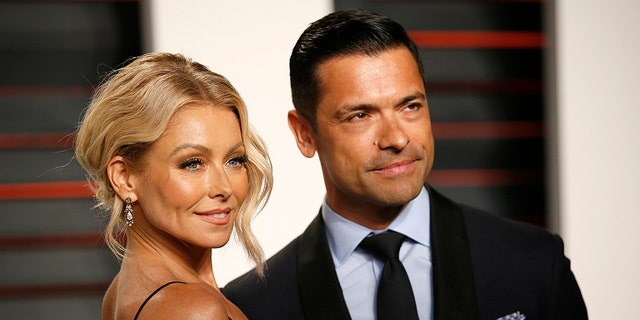 """Kelly Ripa and Mark Consuelos married in 1996 after meeting on the set of """"All My Children."""""""